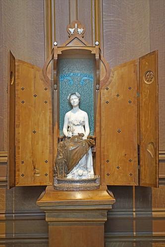 """""""La Paix au foyer"""" de J. Dampt (musée des arts décoratifs, Paris)"""