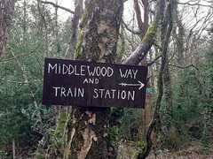Middlewood Way and Train Station