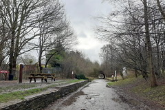 High Lane station (the remains of) on the Middlewood Way