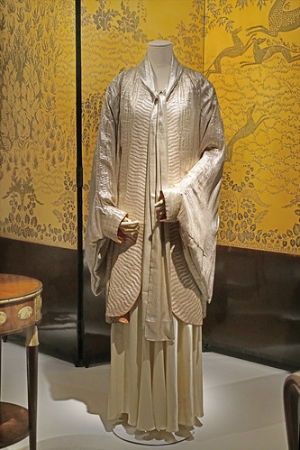 """""""Manteau et robe du soir"""", création de Jeanne Lanvin (musée des arts décoratifs, Paris)"""