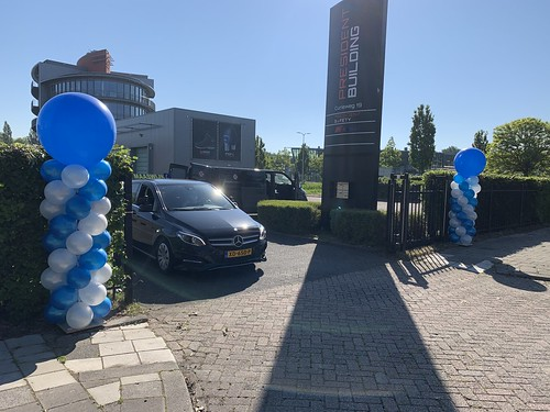 Ballonpilaar Breed Rond Opening CBR Spijkenisse