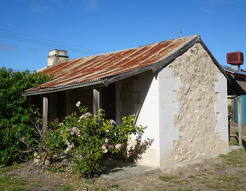Stone Cottage With Rusty Roof