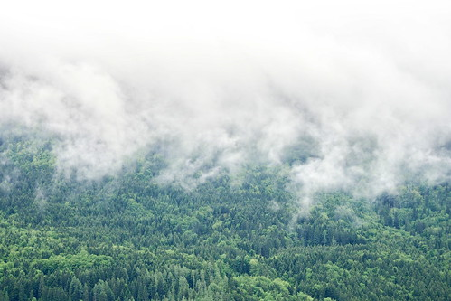 low clouds