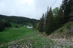 Montée le long du Téléski de l'Aigle @ Semnoz