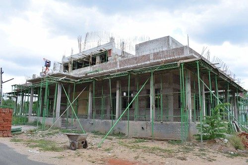 """Temple Construction work is in progress June 2021 - Ramakrishna Mission-Coimbatore (3) <a style=""""margin-left:10px; font-size:0.8em;"""" href=""""http://www.flickr.com/photos/47844184@N02/51231232698/"""" target=""""_blank"""">@flickr</a>"""