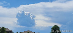 June 5, 2021 - Thunderstorms on the horizon. (David Canfield)
