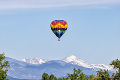 June 6, 2021 - A hot air balloon on a beautiful spring day. (Tony's Takes)