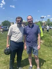 Rabbi Asher Lopatin and Senator Jeremy Moss