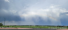 June 7, 2021 - After the storm, a beautiful rainbow. (David Canfield)