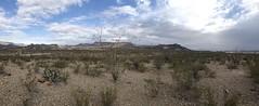 Big Bend Ranches Pano