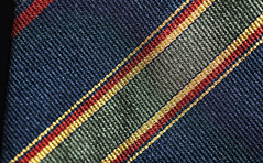 Regimental stripes