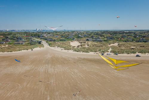 Kites above Rindby