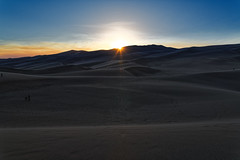 A Sunset Has Written Its Dream Upon the Great Sand Dunes (Great Sand Dunes National Park & Preserve)