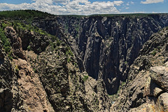 Amazing Views of the Black Canyon of the Gunnison While Walking the North Vista Trail (Black Canyon of the Gunnison National Park)