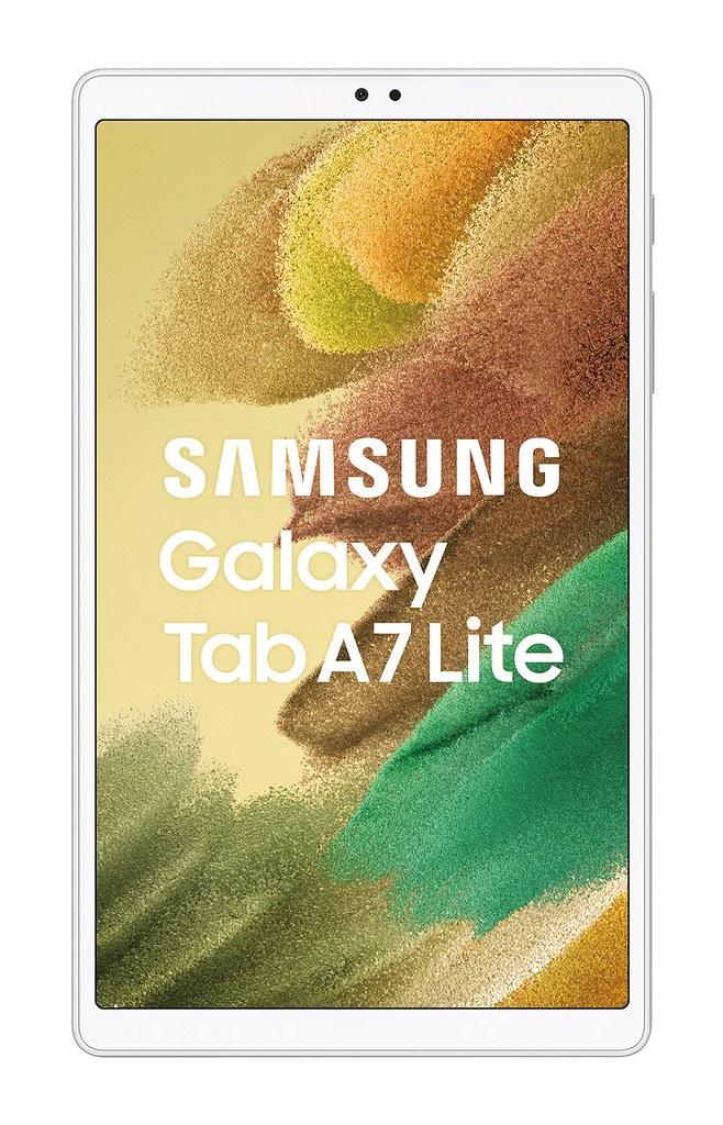 【新聞照片8】Galaxy Tab A7 Lite_銀_正面