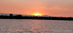 June 8, 2021 - A beautiful subdued sunset in Broomfield. (David Canfield)