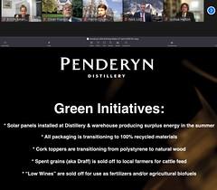 Penderyn Whiskey PP 5 (Green Initiatives)