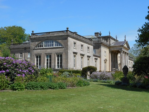 Stourhead, Wilts. The house from the grounds.