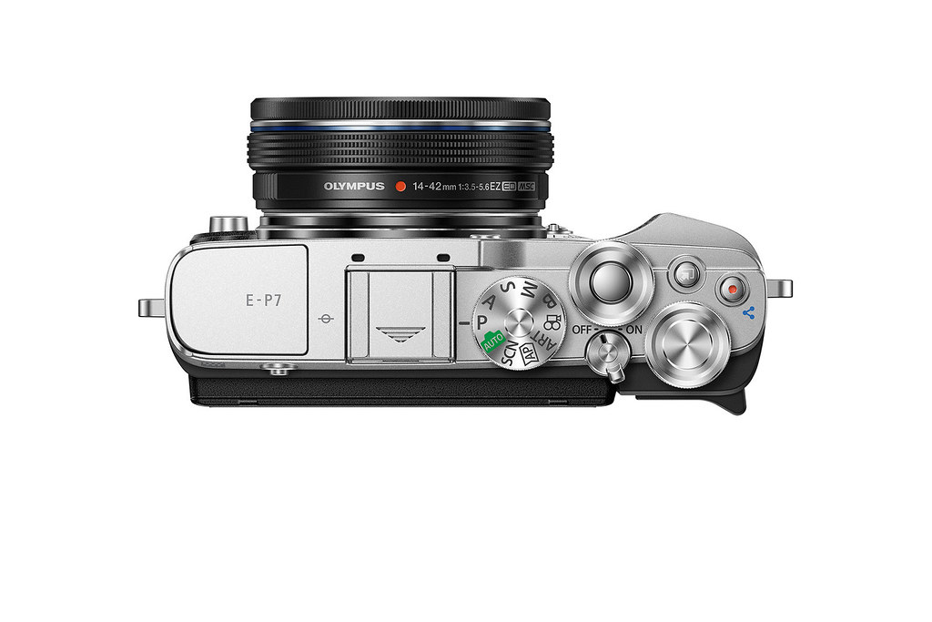 03_Olympus Pen E-P7 搭配ED14-42mm F3.5-5.6 EZ變焦鏡頭組_經典銀黑_上視