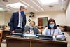 Miguel Ángel Paniagua, Carmen Gonzalez Guinda y Sandra Moneo en la Comisión de Derechos Sociales y Políticas Integrales de la Discapacidad (10/6/21)