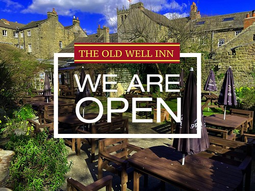Old Well Inn Beer Garden