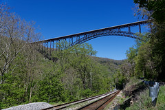Off Centered and Looking to the New River Gorge Bridge (New River Gorge National Park & Preserve)