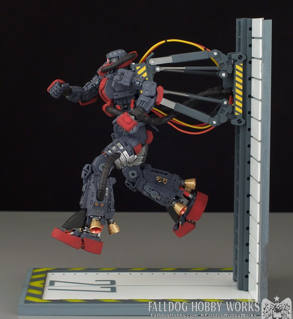 MG Psycho Zaku Thunderbolt Diorama by Judson Weinsheimer