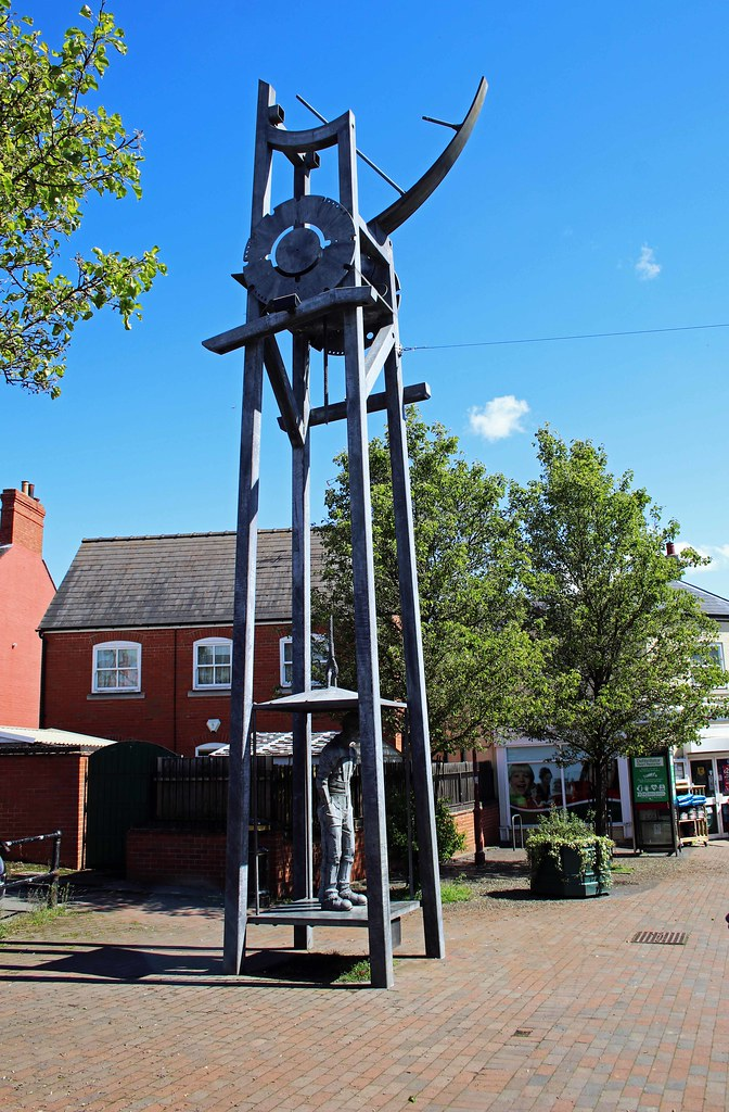 Tribute To The Miner's Of Highley, Shropshire.