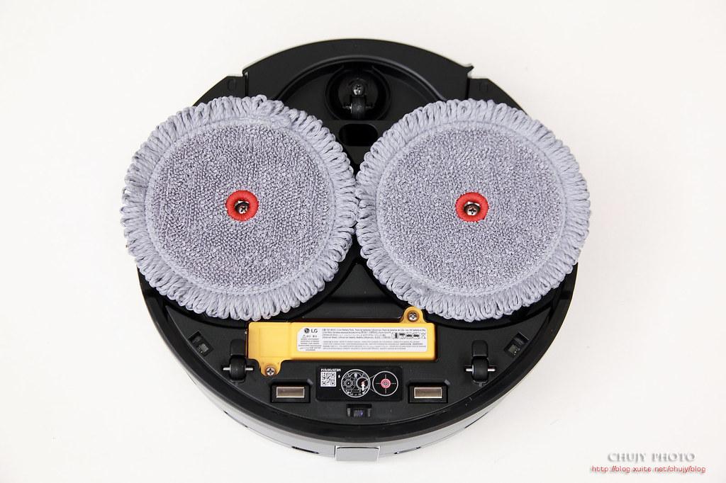 (chujy) LG CordZero ThinQ M9銳眼雙旋拖地機器人,吃苦耐勞的安靜阿信