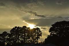 Friday Evening Sky.