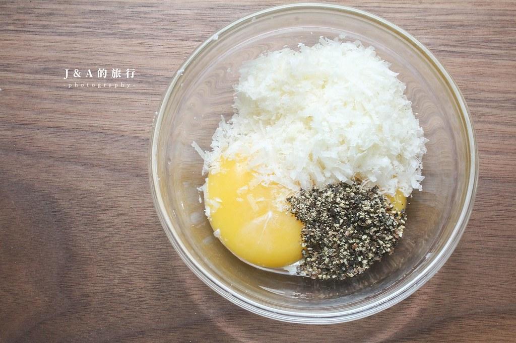 【食譜】培根蛋麵。濃郁義式培根蛋奶麵,蛋汁不凝固結塊的方法 @J&A的旅行
