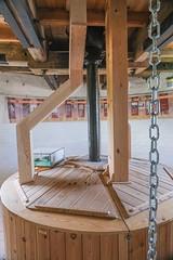 Holgate Windmill bin floor, June 2021 - 1