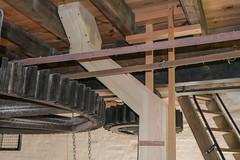 Holgate Windmill stone floor, June 2021 - 3