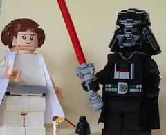 [MOC / MOD] Leia maxifig LEGO
