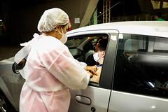 13.06.21- Movimentação noturna nos postos de intensificação da vacina contra a Covid-19