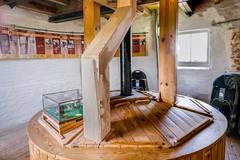 Holgate Windmill bin floor, June 2021 - 4