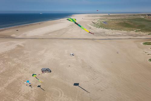 Fanø beach from above