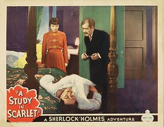 """Like all Holmes films before the 1939 """"Hound"""", this one was given a contemporary period setting"""