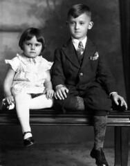 1934 or so - Marjorie and Robert Carbiener