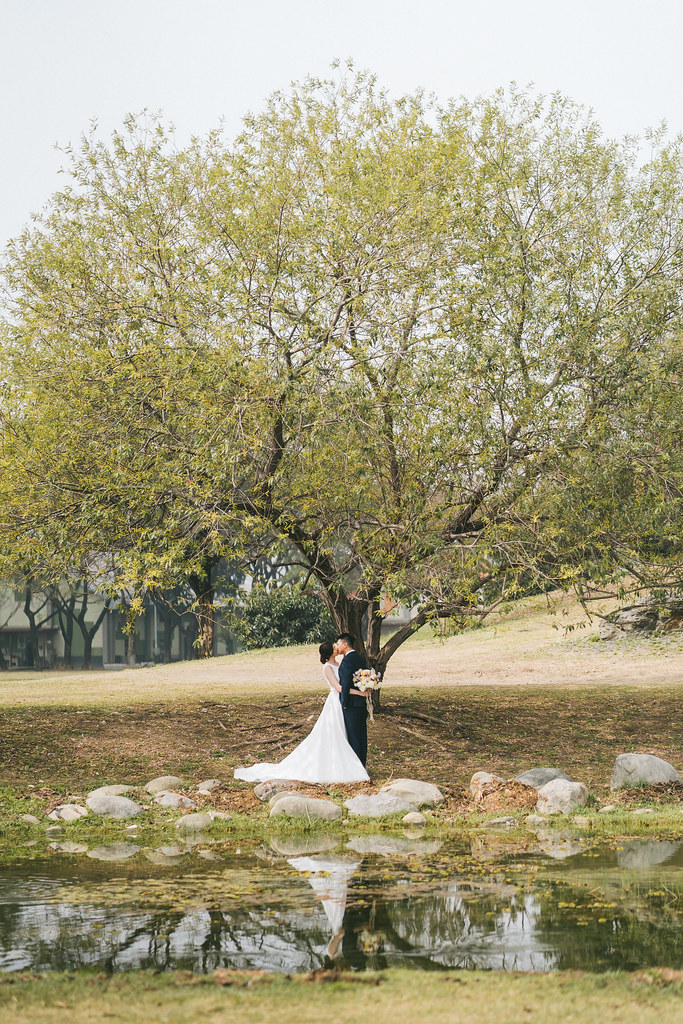 [自助婚紗] CHEN&DAI|衛武營都會公園|木木空間|奇美博物館