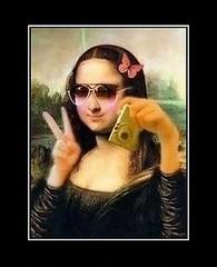 Monna Lisa new selfie