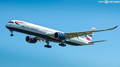 British Airways Airbus A350-1041 G-XWBH