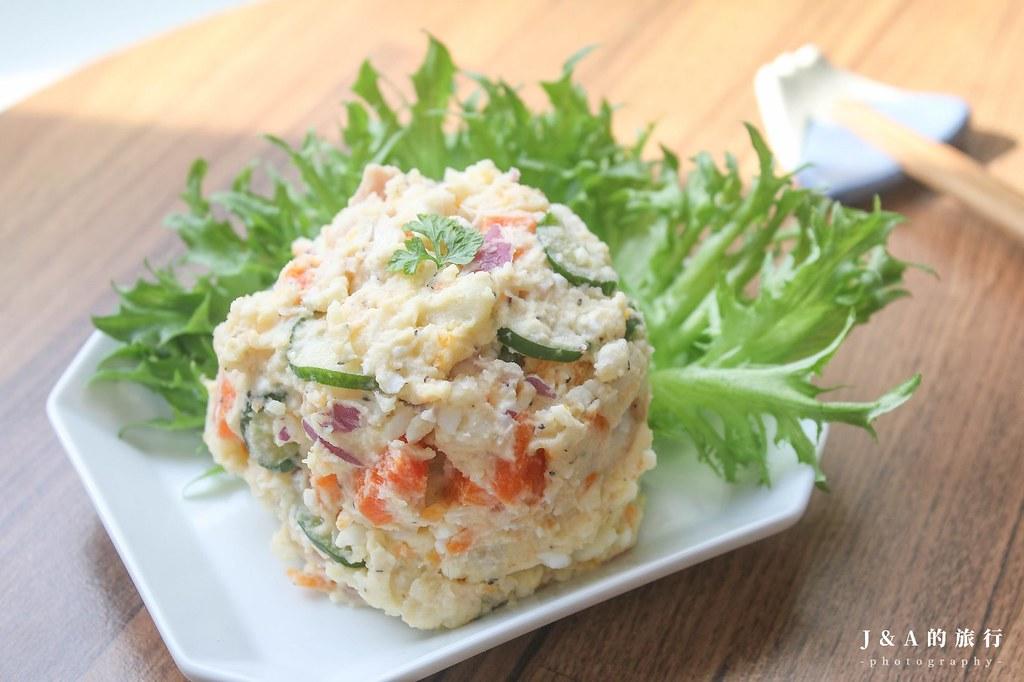 【食譜】日式馬鈴薯沙拉。零失敗日本家常料理 @J&A的旅行