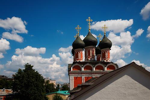 Храм Боголюбской Иконы Божией Матери Высокопетровского Монастыря