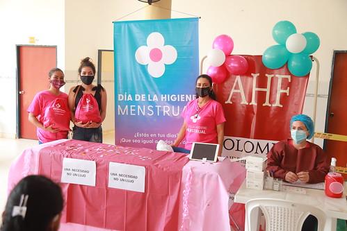 2021  Menstrual Hygiene Day: Colombia