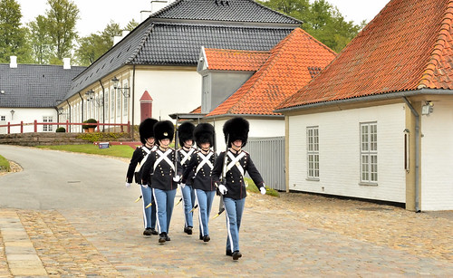 Guards in Fredensborg Palace, Denmark