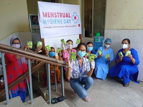 2021 Menstrual Hygiene Day: Nepal