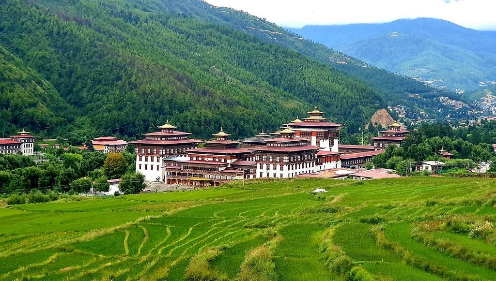 (圖3)探索不丹首都亭布市區