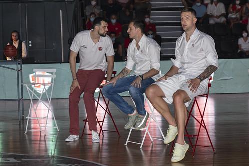 Danilo Andjusic, Pierre Pelos et Alen Omic - ©JacquesCormareche