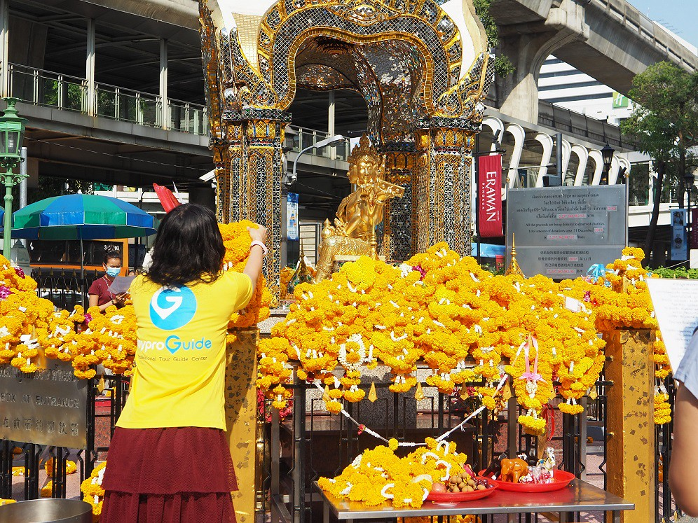 (圖5)泰國曼谷四面佛還願或許願線上祈福